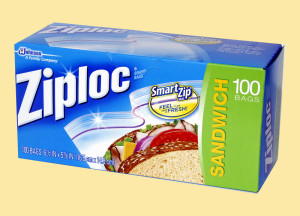 Ziploc for travel | www.rtwgirl.com