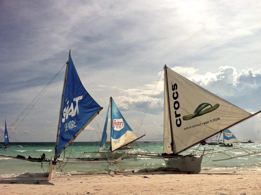 Paraw boats