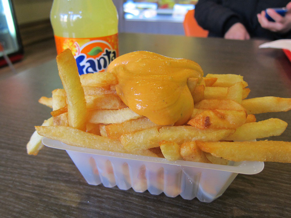 Frites In Belgium