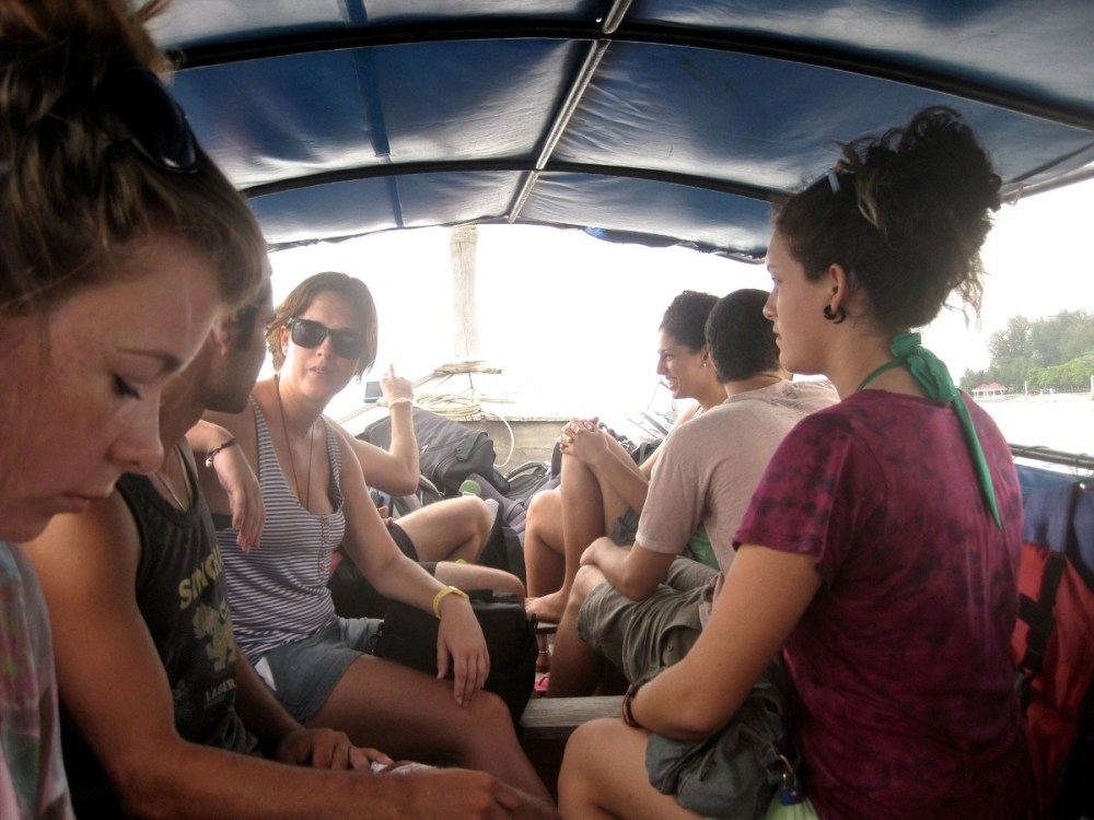 Longtail Ride with friends