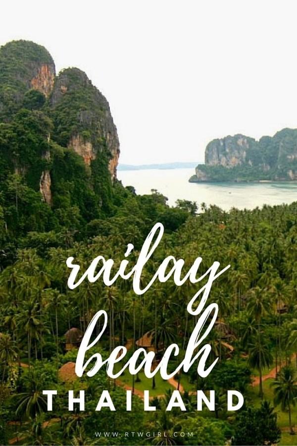 Railay Beach: A Day Trip From Krabi, Thailand