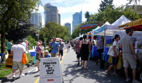 West End Farmers Market Vancouver