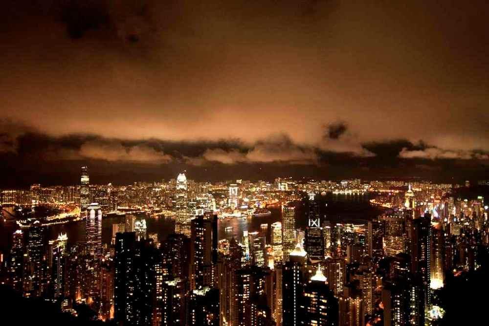 Victoria Peak Night View