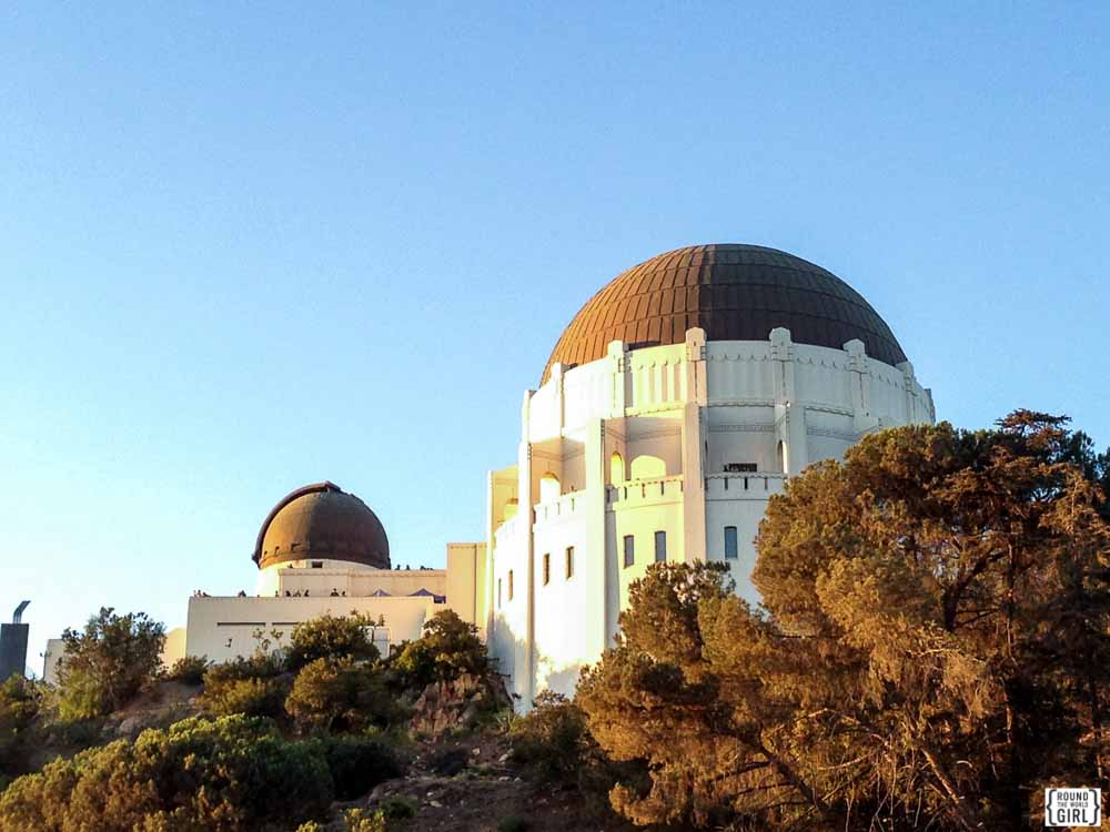 Griffith Park Observatory Los Angeles | www.rtwgirl.com