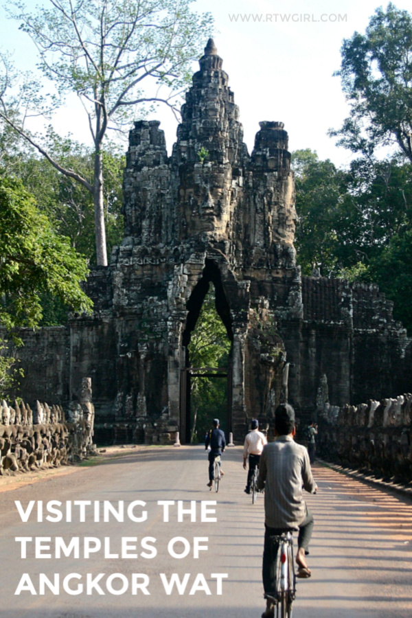 Visiting the temples of Angkor Wat | #travel #cambodia #rtwgirl