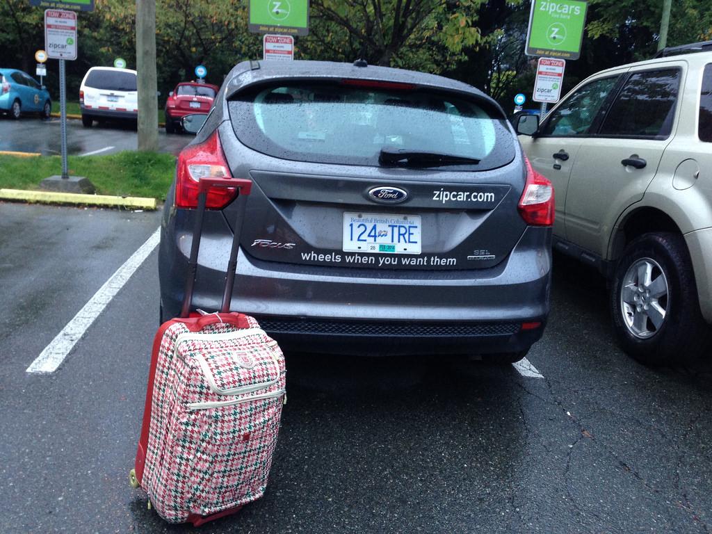 Using ZipCar When You Travel