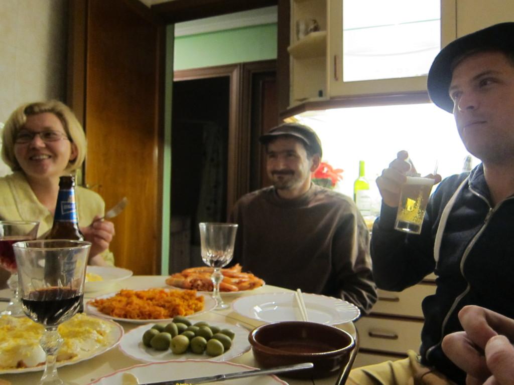 Dinner at Olga's