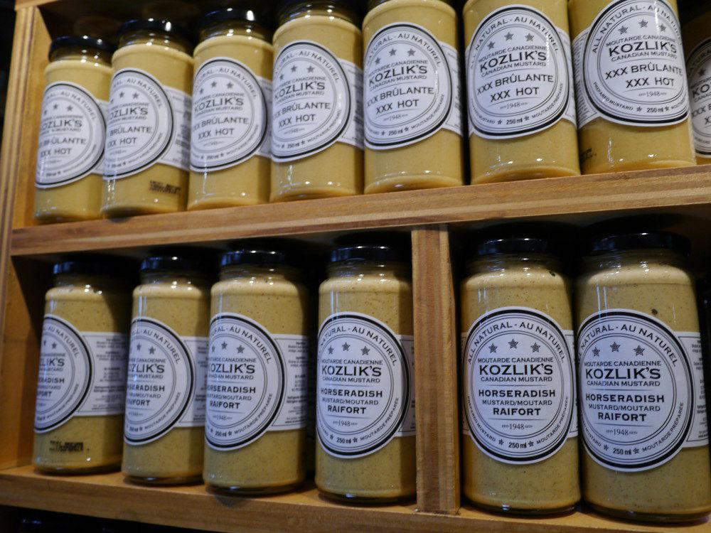 St Lawrence Market Kozlik's Mustard Toronto