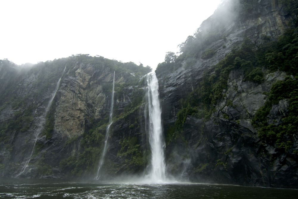 South Island Of New Zealand - Milford Sound