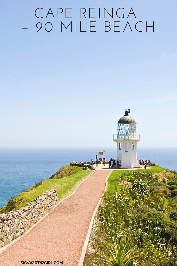 Cape Reinga And 90 Mile Beach | www.rtwgirl.com