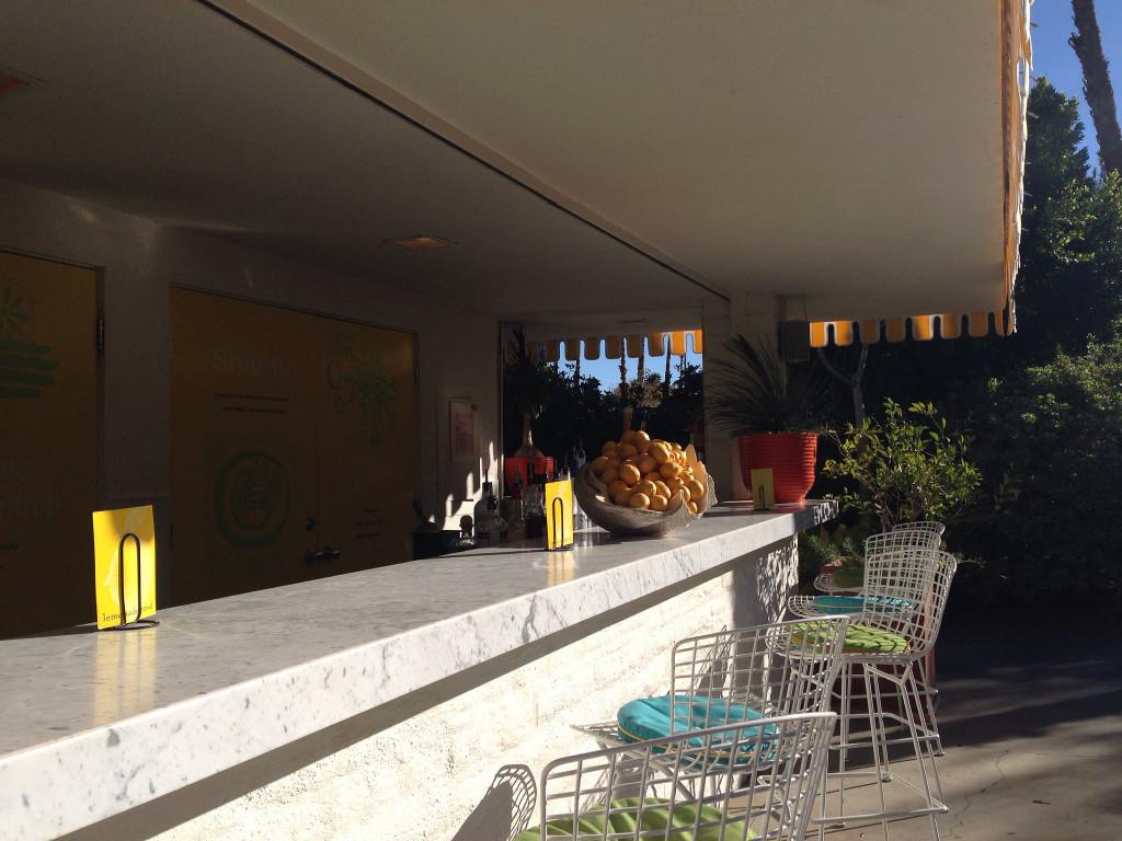 Lemonade Stand at Parker Palm Springs California | www.rtwgirl.com