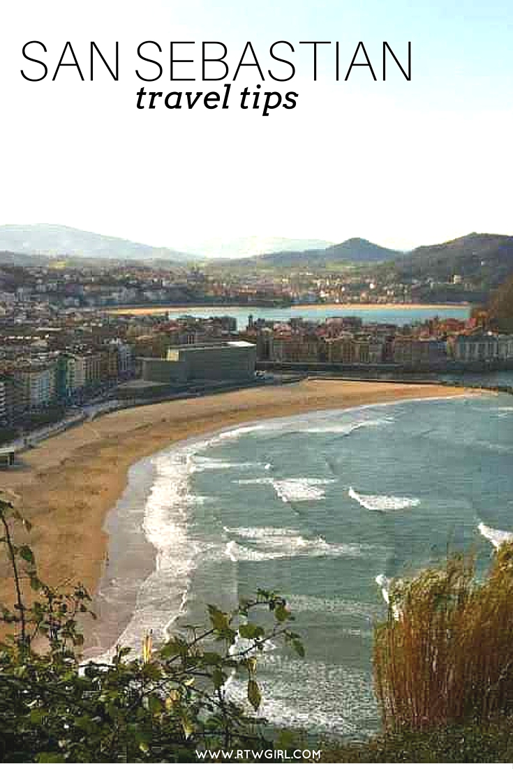 San Sebastian travel tips | www.rtwgirl.com