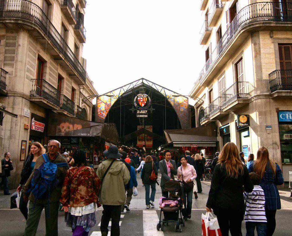 La Boqueria Market - Barcelona, Spain | www.rtwgirl.com