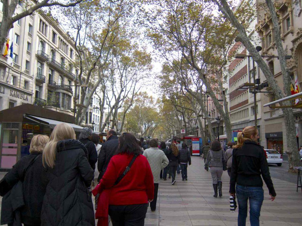 La Rambla Barcelona | www.rtwgirl.com