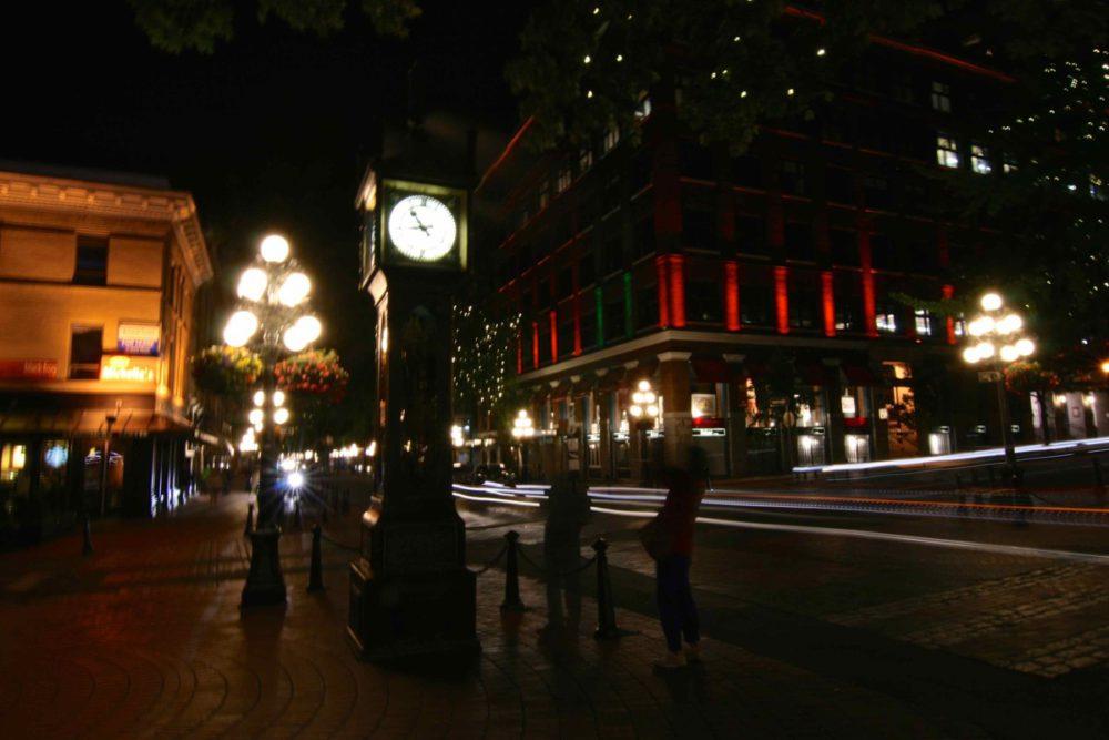 Gastown Long Exposure - Vancouver Photowalks