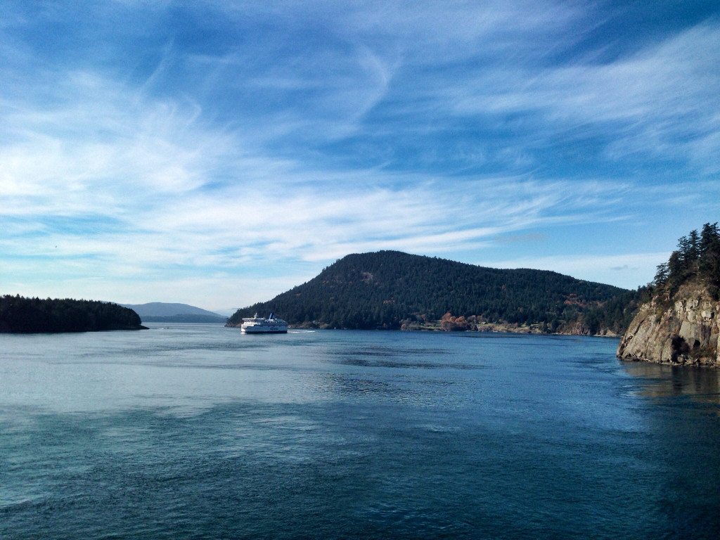 Beautiful Ride On BC Ferries
