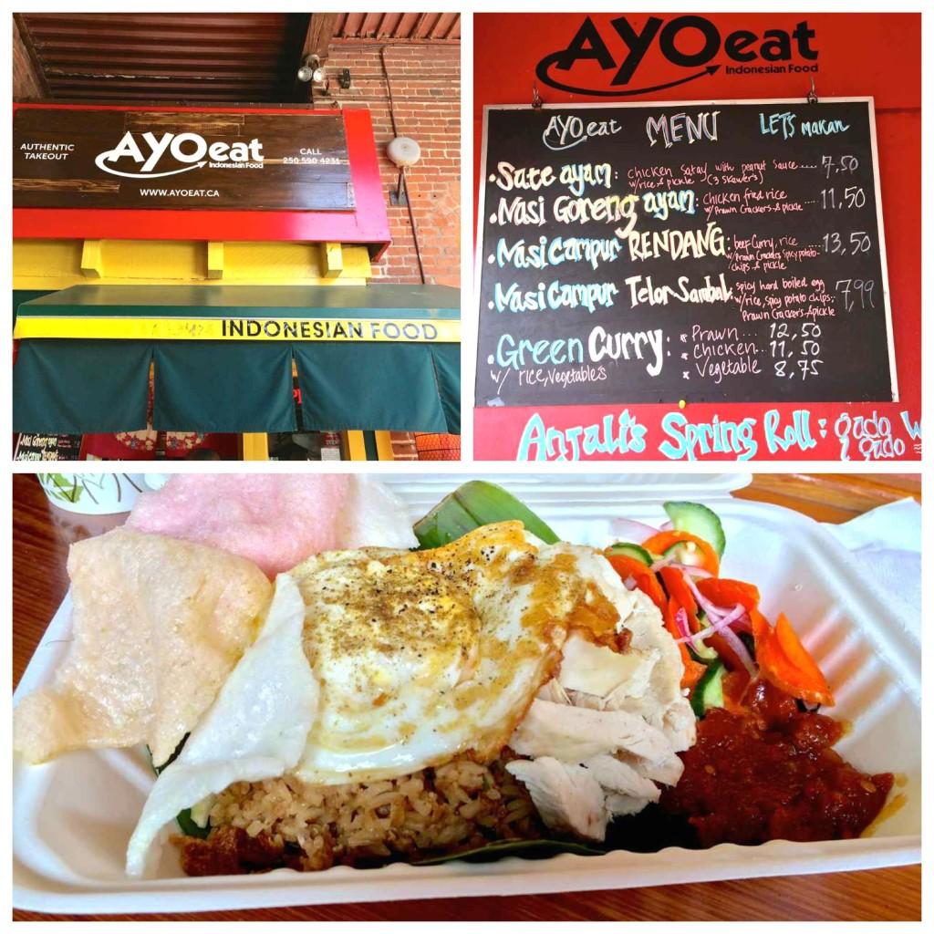 Ayo Eats Indonesian Market Square Victoria