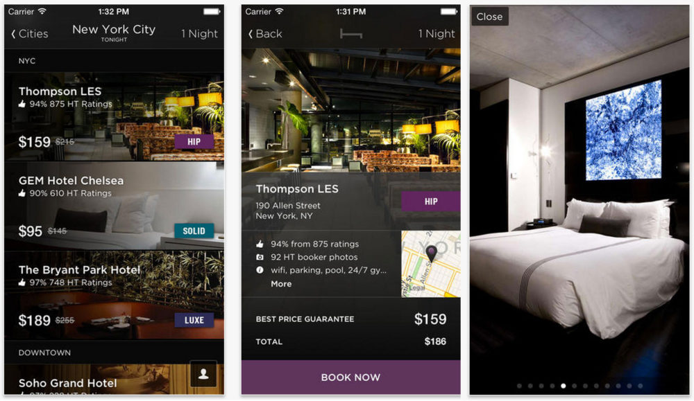 Hotel Tonight - Best Travel Apps