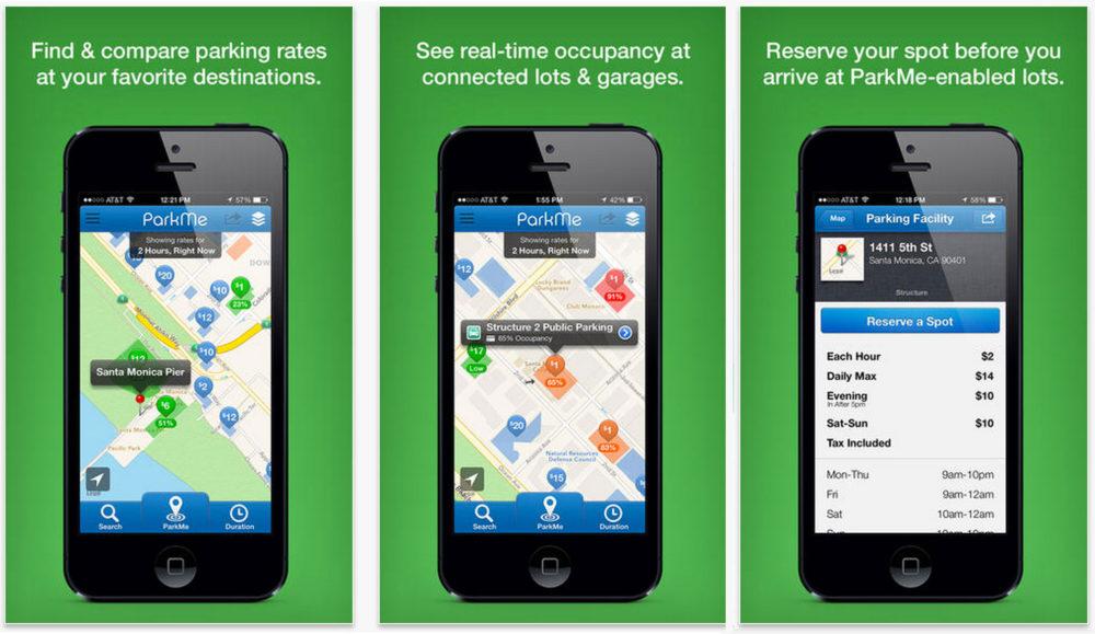 Parkme - Best Travel Apps | www.rtwgirl.com