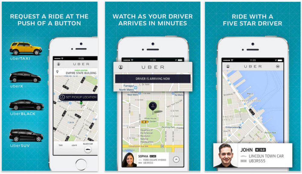 Uber - Tripit - Best Travel Apps | www.rtwgirl.com