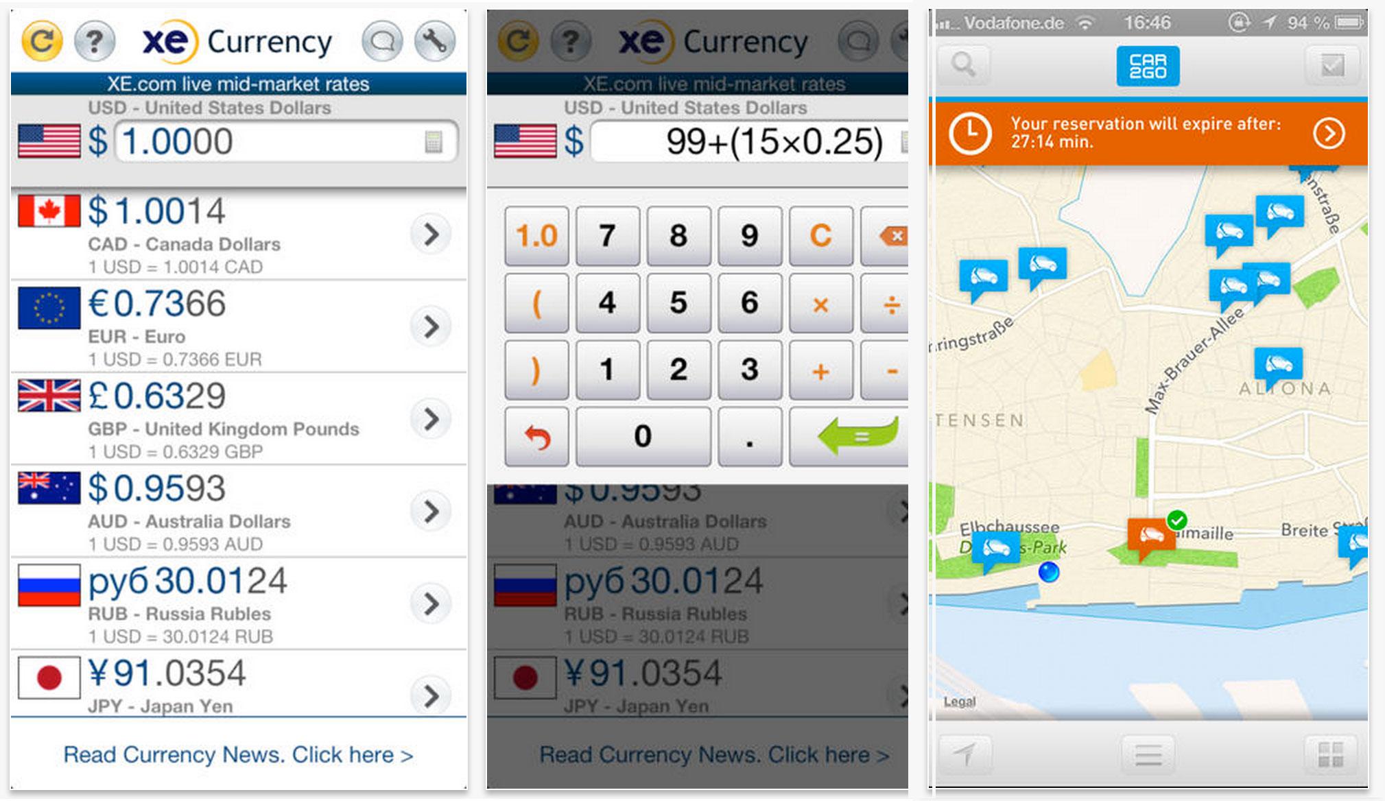 XE - Best Travel Apps | www.rtwgirl.com