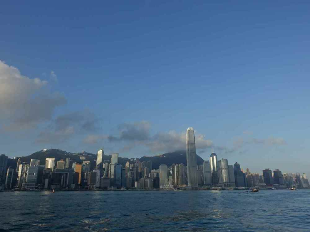 Hong Kong Photos - Victoria Harbour Just after sunrise