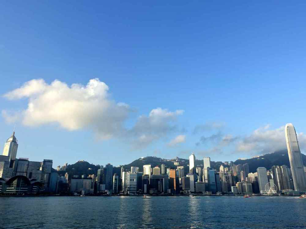 Sunny Victoria Harbour View