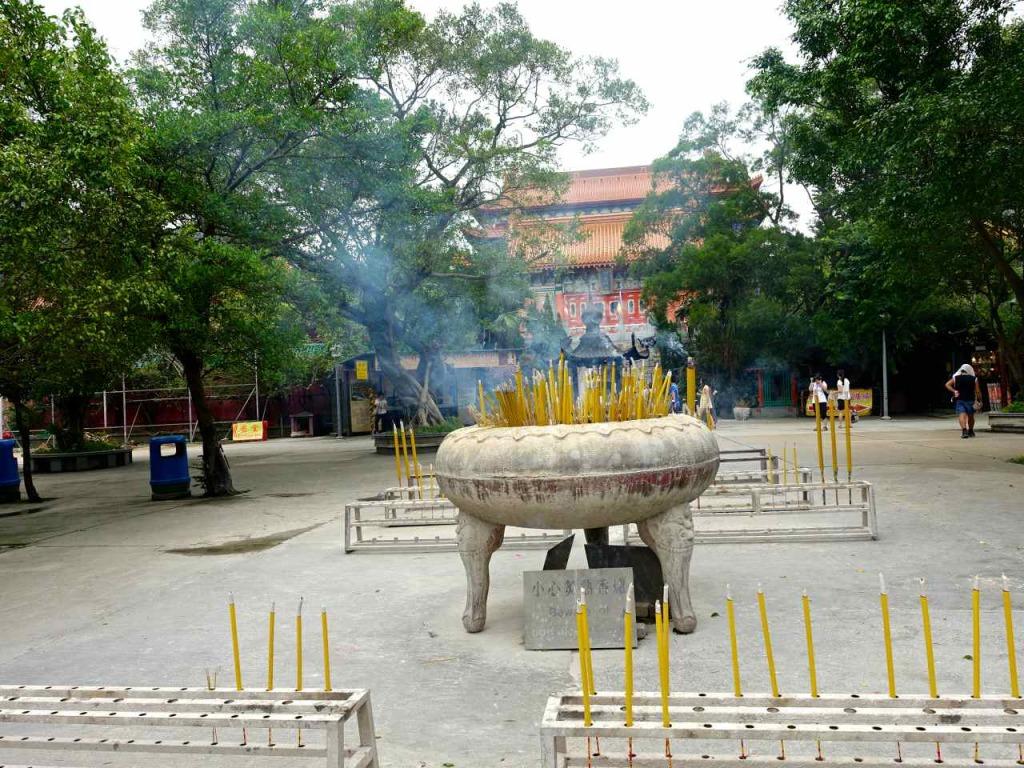Po Lin Monastery - Lantau Island Hong Kong