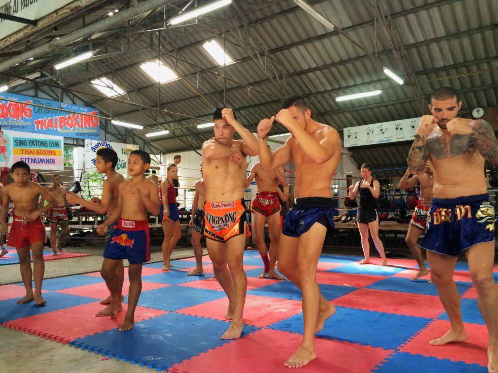Singpatong Muay Thai Gym Phuket