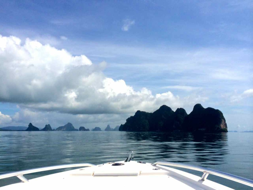 Boating In Phang Nga Bay