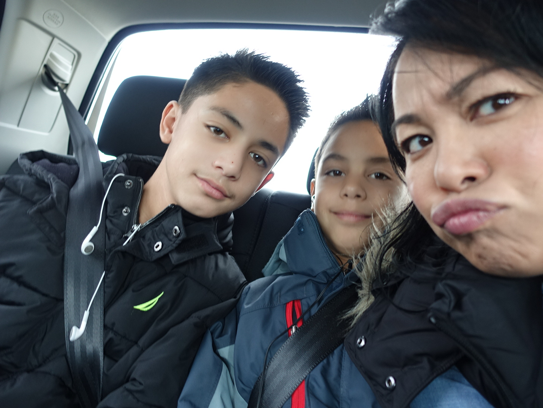 My nephews and I