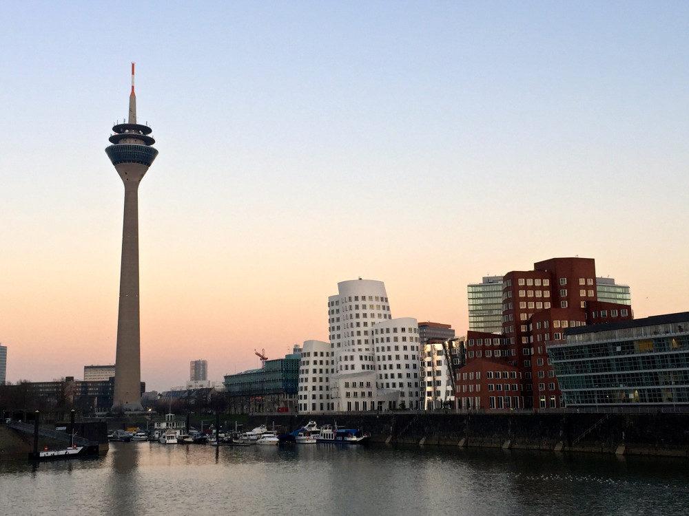 Dusseldorf Mediahafen