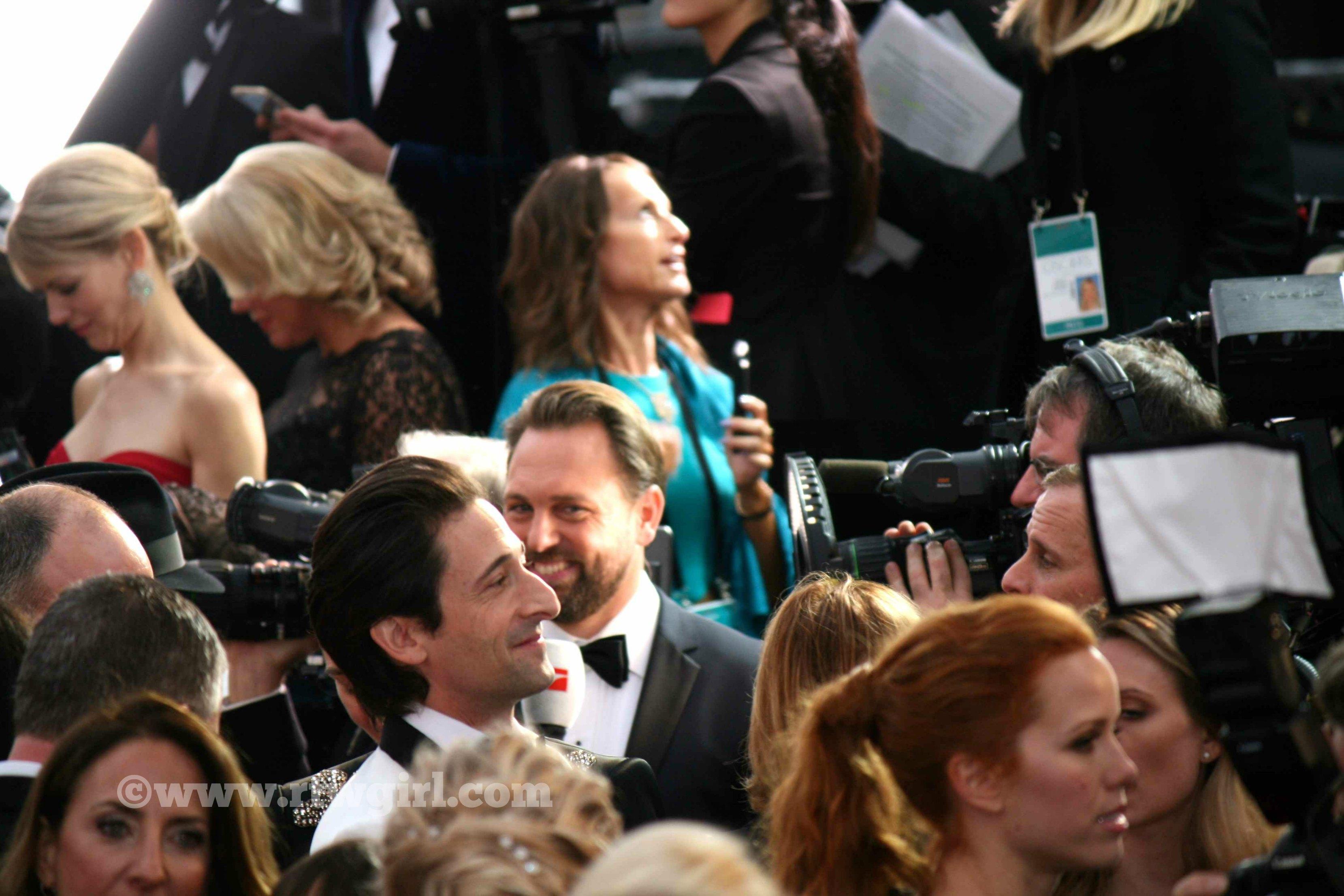 Adrian Brody Red Carpet 2015