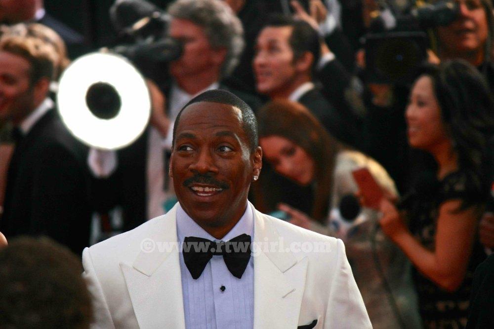 Eddie Murphy Oscars Red Carpet 2015
