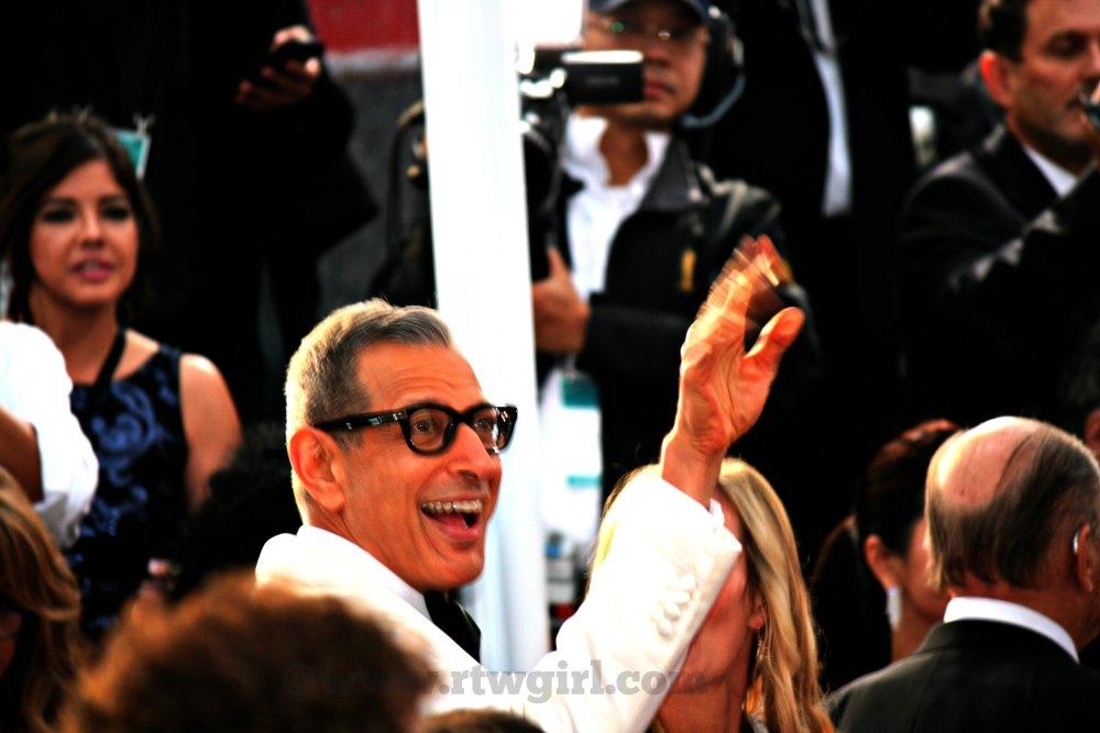 Jeff Goldblum Red Carpet 2015