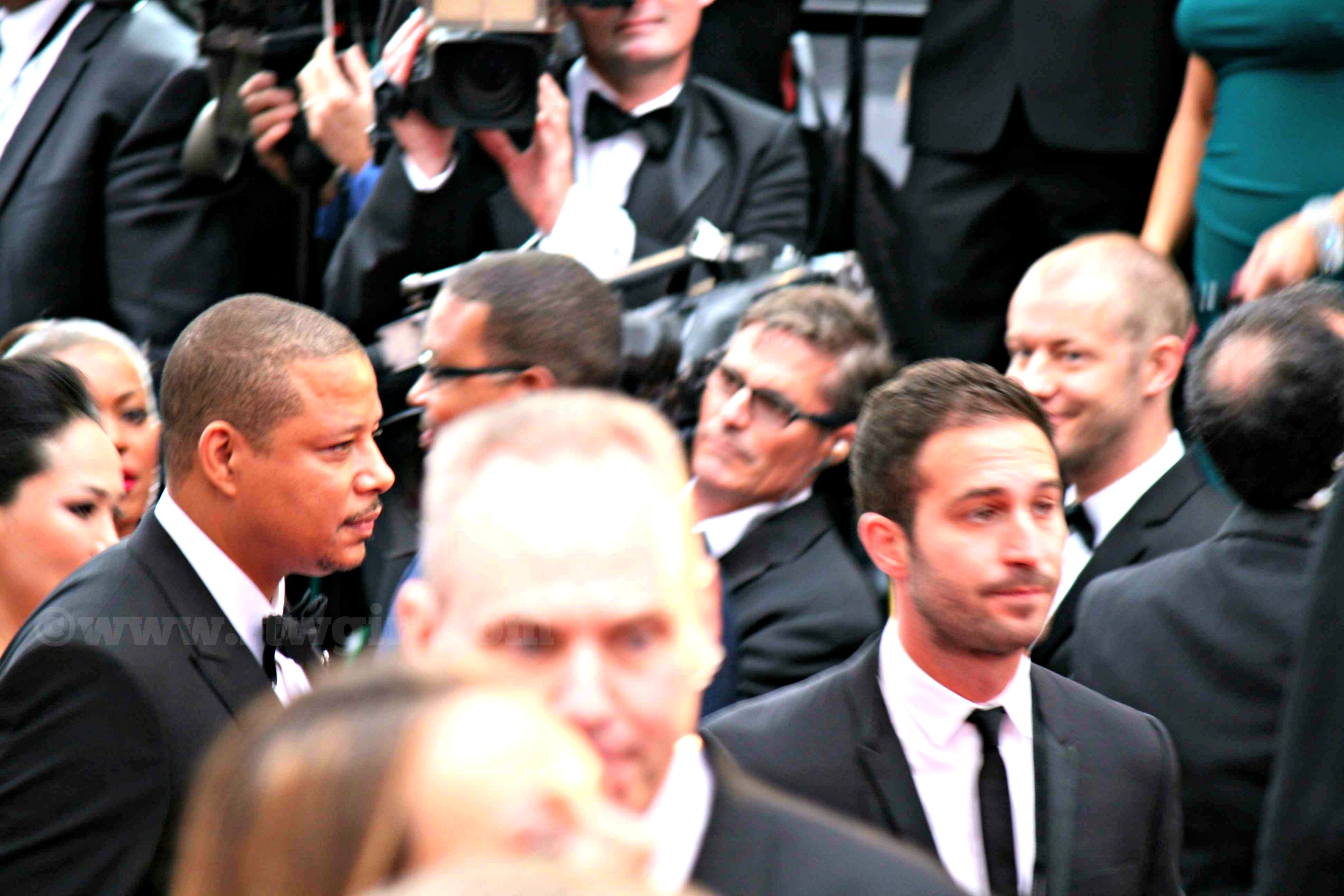 Terence Howard Oscars Red Carpet 2015