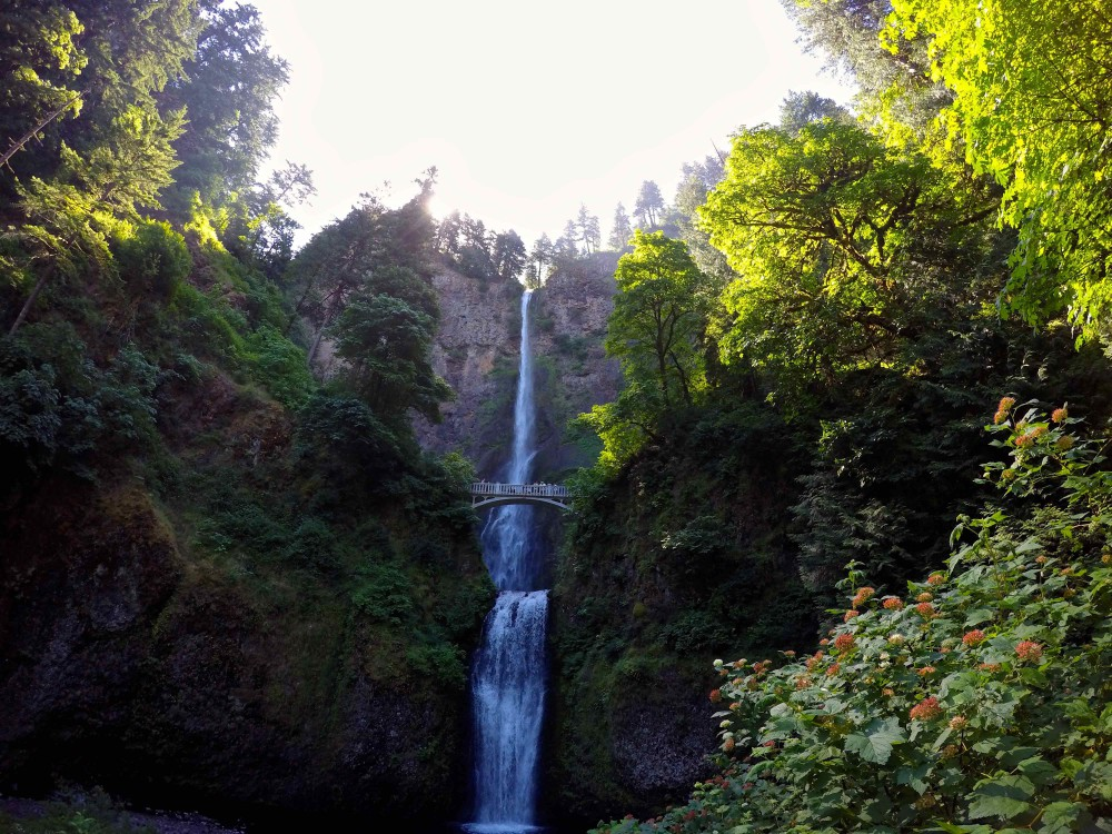 GoPro Multnomah Falls