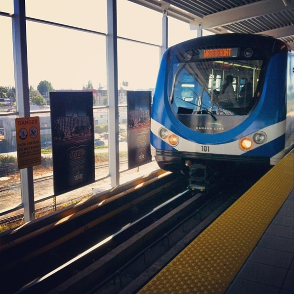 Skytrain - Vancouver Travel Tips
