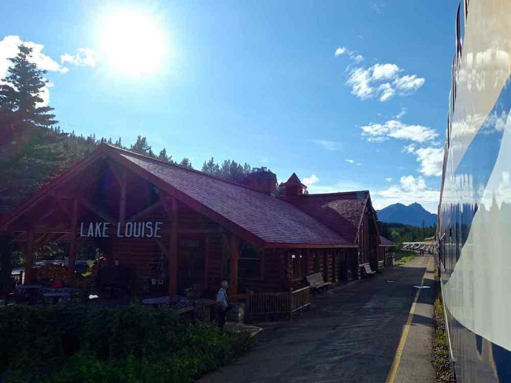 Lake Louise Train Station | www.rtwgirl.com