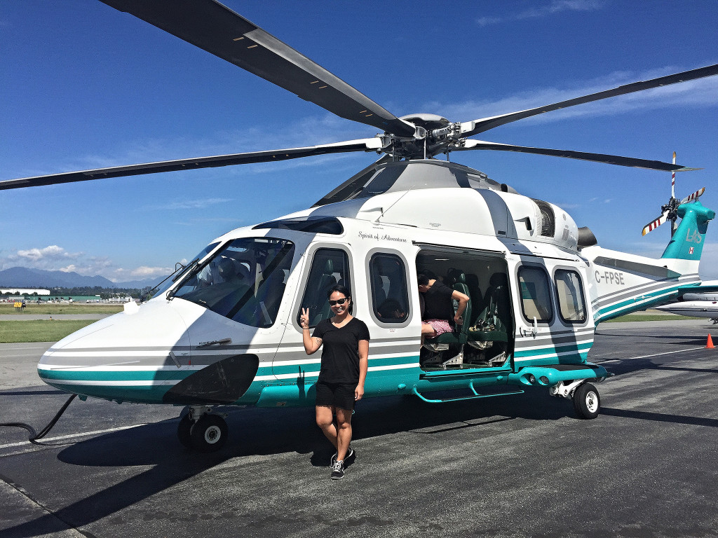Helicopter to Sonora Resort | www.rtwgirl.com