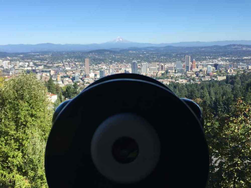 Portland View from Pittock Mansion