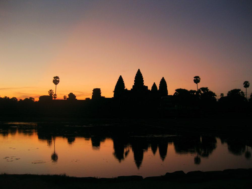 Sunrise at Angkor Wat - Cambodia | www.rtwgirl.com