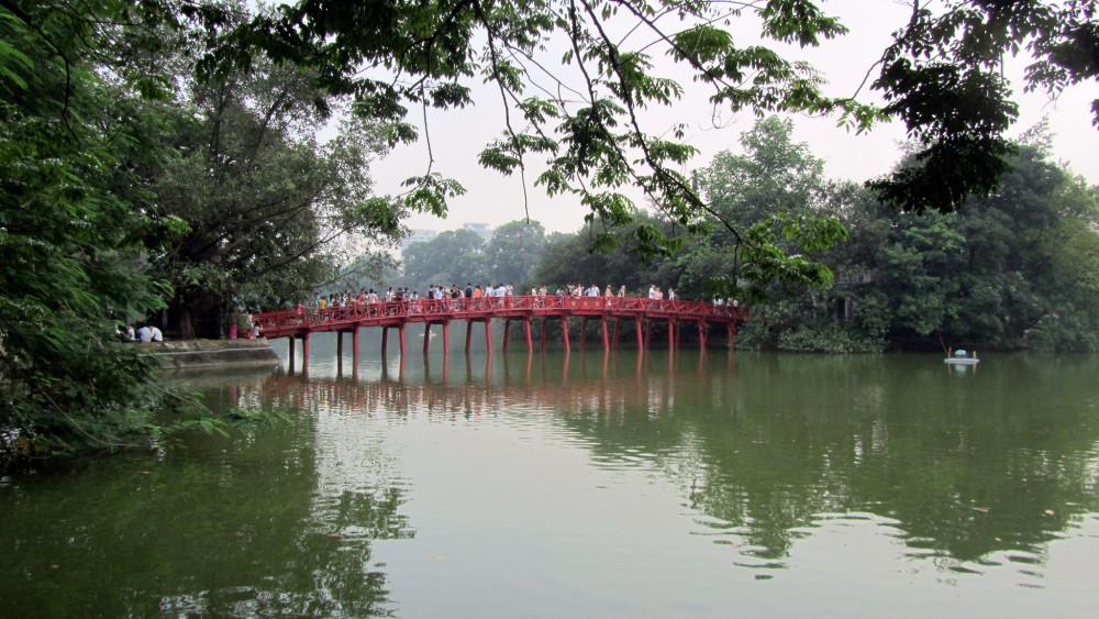 Hoan Kiem Lake Vietnam