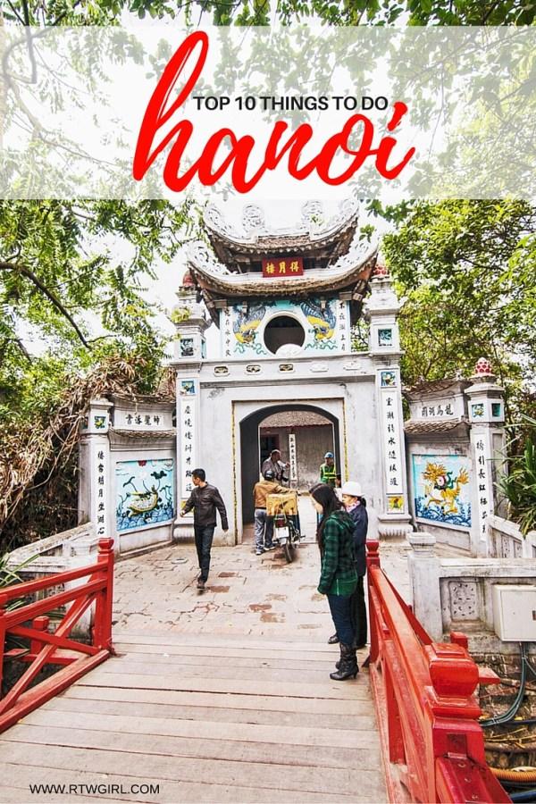 Top Ten Things To Do In Hanoi Vietnam