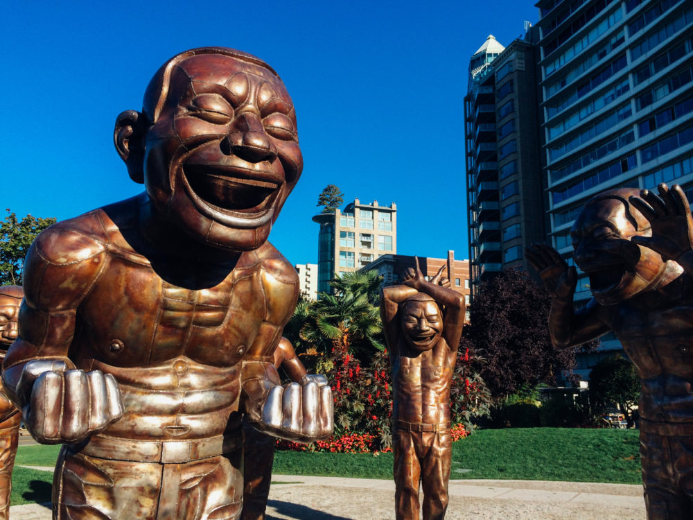 A-Maze-Ing Laughter in English Bay