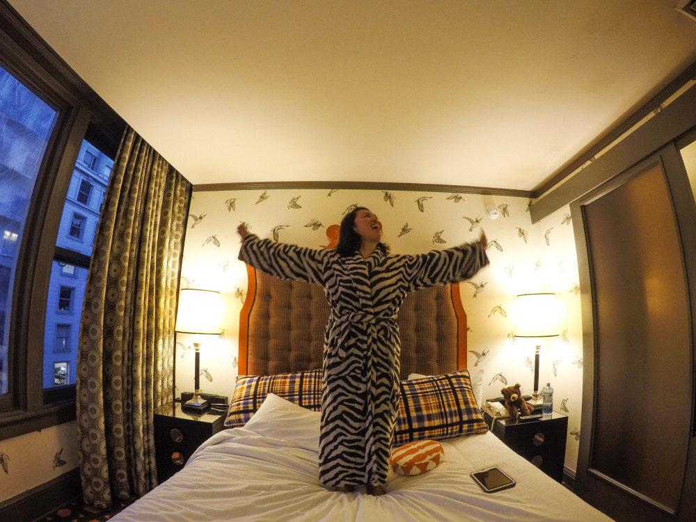 Hotel Monaco in Portland Oregon | www.rtwgirl.com