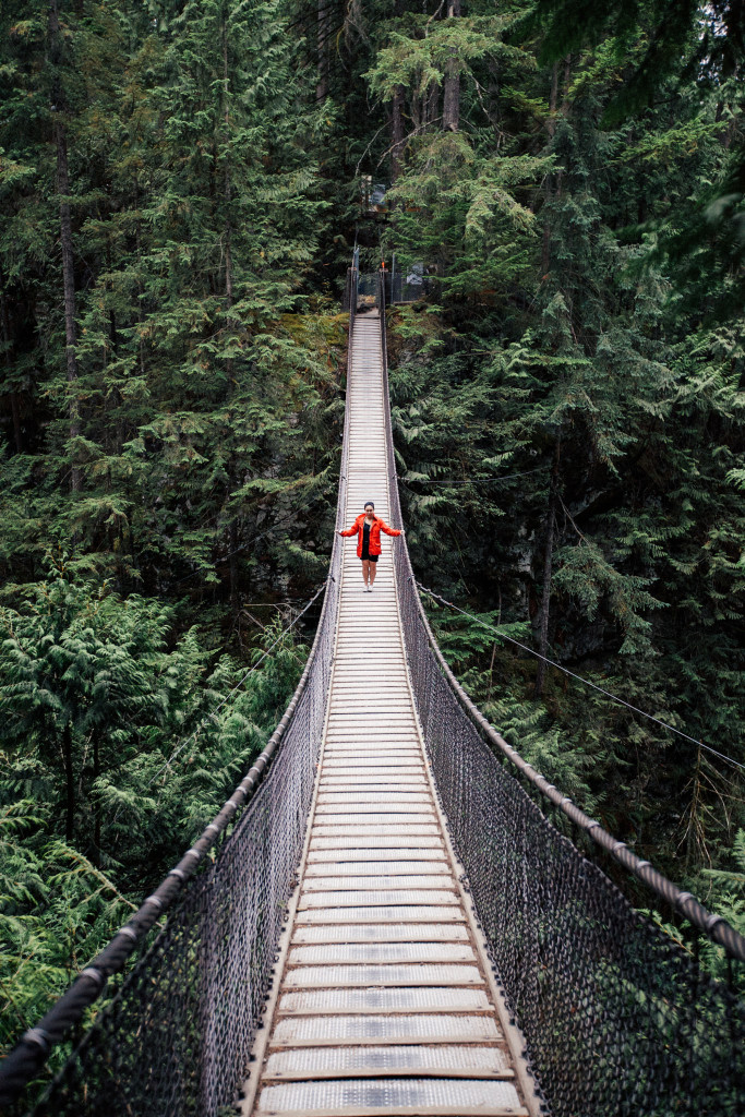 Lynn Canyon Suspension Bridge - Best Things To Do On A Budget In Vancouver | www.rtwgirl.com