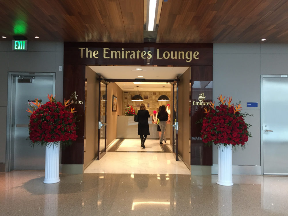Emirates First Class Lounge LAX