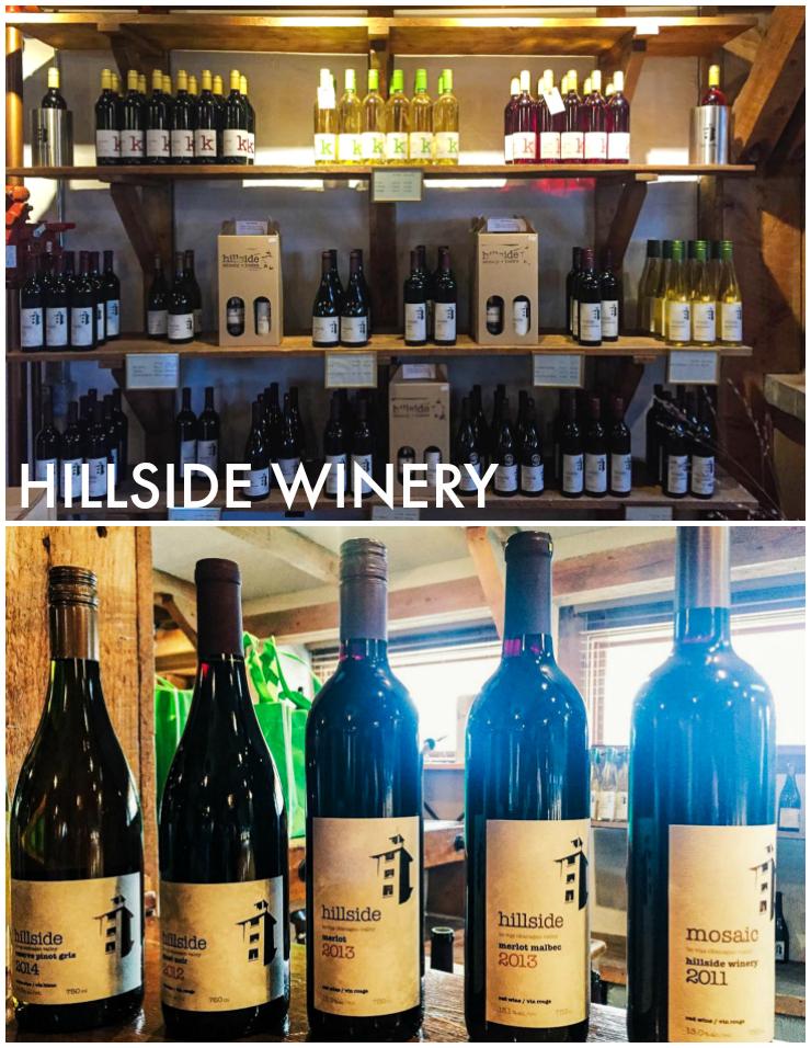 Hillside Winery - Okanagan Wine Country