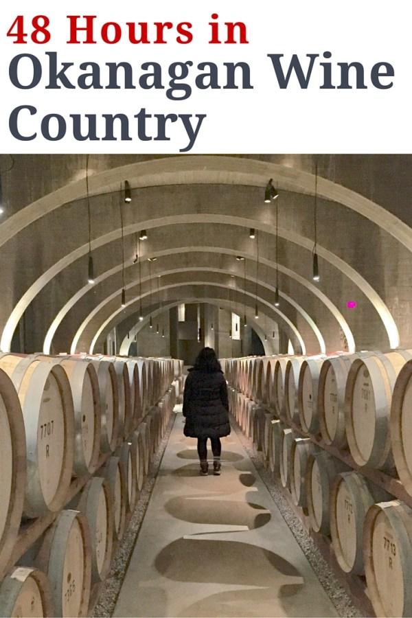 48 Hours in Okanagan Wine Country | www.rtwgirl.com